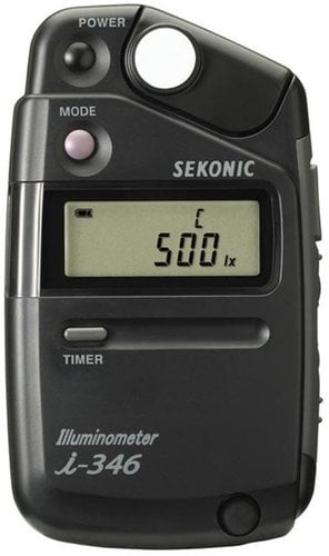 Sekonic i-346 Digital Illuminometer / Light Meter 401-346