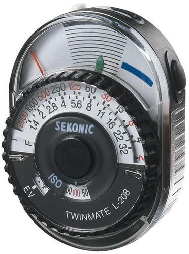 Sekonic L-208 TwinMate Analog Light Meter 401-208
