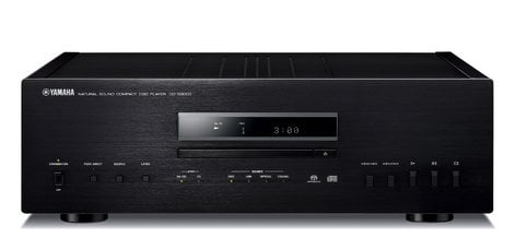 Yamaha CD-S3000 Natural Sound CD Player in Black CD-S3000BL