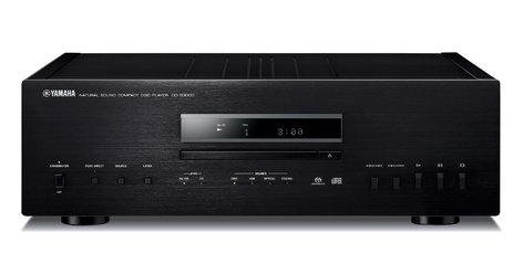 Yamaha CD-S3000 Natural Sound CD Player in Black CD-S3000BL