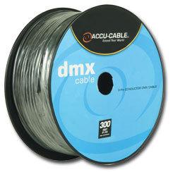 Accu-Cable AC3CDMX300 300 ft Spool of 3-Pin DMX Cable AC3CDMX300