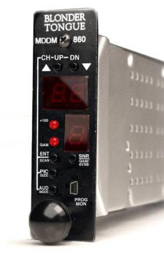 Blonder-Tongue MDDM-860  HE-12 & HE-4 Series ATSC/QAM Demodulator MDDM-860
