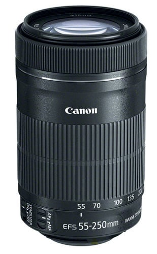 Canon 8546B002 EF-S 55-250mm f/4-5.6 IS STM Telephoto Zoom Lens 8546B002