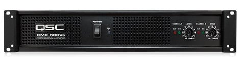 QSC CMX500VA CMX Series 2RU 500W (4 Ohms) Stereo Power Amplifier CMX500VA