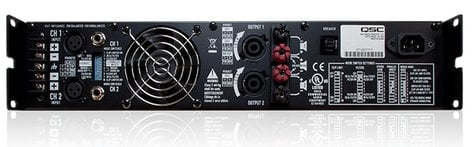 QSC RMX2450A RMX Series 750W-Channel @ 4 Ohms Stereo Power Amplifier RMX2450A