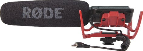 Rode VIDEOMIC-R VideoMic Shotgun Microphone with Integrated Rycote Lyre Suspension VIDEOMIC-R