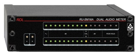 Radio Design Labs RU-SM16A Dual Channel Audio Meter  RUSM16A