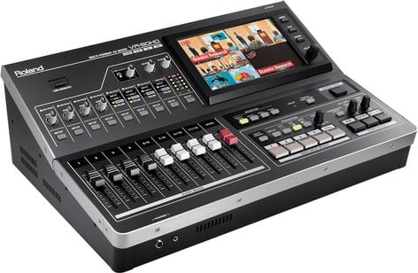 Roland System Group VR-50HD All-In-One HD Multi-Format AV Mixer with Web Streaming & Recording VR-50HD