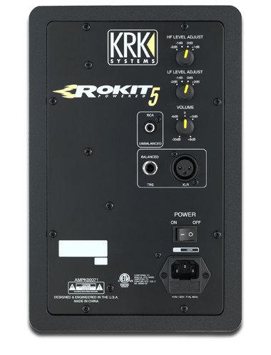 """KRK ROKIT 5 G3 5"""" 2-Way Active Studio Monitor RP5G3"""