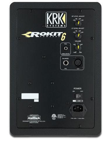 """KRK ROKIT 6 G3 6"""" 2-Way Active Studio Monitor RP6G3"""