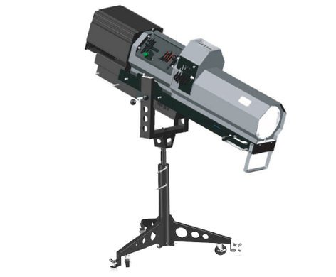 Lycian Stage Lighting 2060-25/E 2500W M2 Long Throw Follow Spot with Electronic Ballast 2060-25E