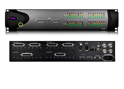 Avid HD-I/O-8X8X8 [EDUCATIONAL PRICING] 8x8x8 Analog & Digital Pro Tools Audio Interface for Educational Institutions HD-I/O-8X8X8-EDU