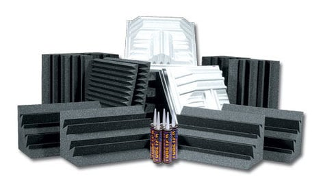Auralex ROOMDLX-PLUS  Deluxe Roominator Kit in Charcoal ROOMDLX-PLUS