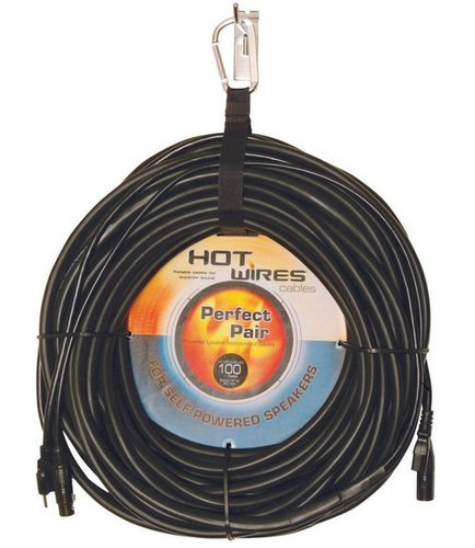 On-Stage Stands MP-COMBO100 100 ft Perfect Pair Powered Speaker Cable Assembly MP-COMBO100