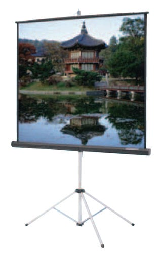 "Da-Lite 93880  50"" x 67"" Carpeted Picture King in Video Format with Keystone Eliminator 93880"