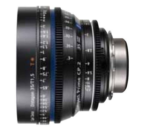 Zeiss CP2-35-1.5/35-EF-FT 35mm f-1.5 Super Speed Compact Prime Lens with 1916-642 EF Mount CP2-35-1.5/35-EF-FT