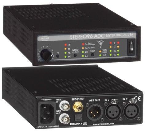 Mytek Digital STEREO96 ADC Digital Audio Converter for Mastering STEREO96-ADC