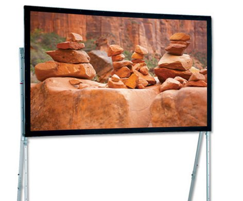 """Draper Shade and Screen 241011 102 ½"""" x 138 ½"""" Ultimate Folding Screen for Portable Projection 241011"""