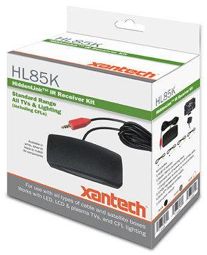 Xantech HL85BK  IR Remote Kit in Black HL85BK
