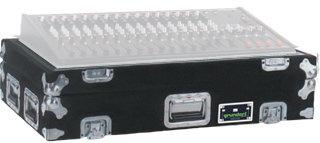 Grundorf Corp M-PRESL2442-DHB Mixer Case for (1) PreSonus StudioLive 24.4.2 with Doghouse in Black M-PRESL2442-DHB