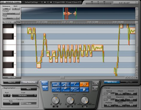 Waves Waves Tune Pitch Correction Plugin TNE