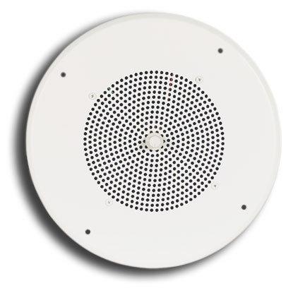 "Bogen Communications S810T725PG8UVK 10"" Ceiling Speaker Assembly with Volume Control in Bright-White S810T725PG8UVK"
