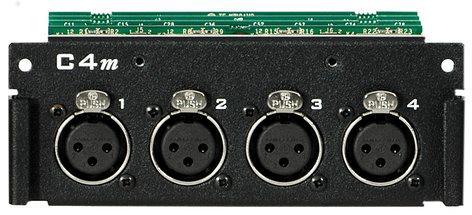 Aviom C4M-AVIOM  Mic/Line Input Card for the AllFrame C4M-AVIOM