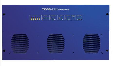 Midas DL252 16 x 48 Fixed Format I/O Unit DL252