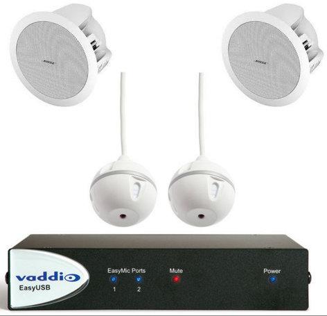 Vaddio EasyUSB Audio Bundles System C EasyTalk USB Solution EASY-TALK-USB-C