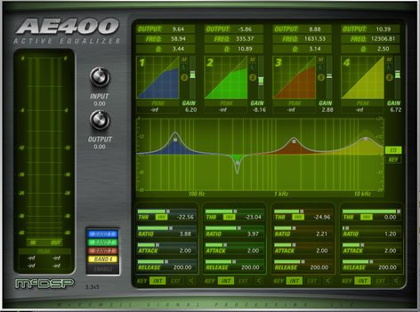McDSP AE400 Active EQ HD Plugin AE400-ACTIVE-EQ-HD