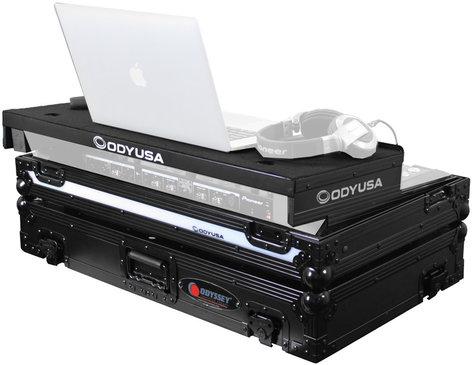 Odyssey FFXGSPIDDJSXBL Flight FX™ Series Glide-Style DJ Controller Case for Pioneer DDJ-XS/S1/T1 FFXGSPIDDJSXBL