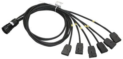 TMB ZBO6KCSP6L 6' KC Breakout Cable with 2P&G Tails ZBO6KCSP6L