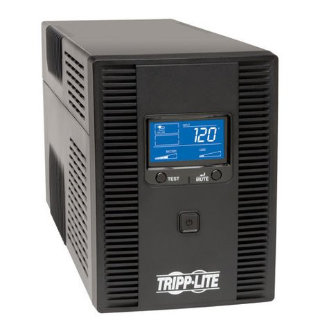 Tripp Lite OMNI1500LCDT  1500VA 120V OmniSmart LCD Tower Line-Interactive UPS with LCD Display & USB Port OMNI1500LCDT