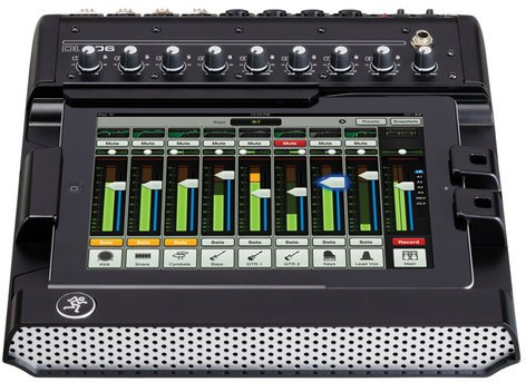 Mackie DL806 8-Channel Digital Live Sound Mixer with for iPad with Lightning Connector DL806-LIGHTNING