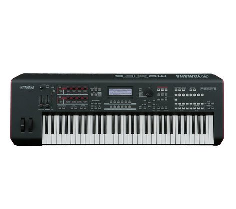 61 key synthesizer workstation by yamaha moxf6 full compass systems rh fullcompass com  manual yamaha mox8 español