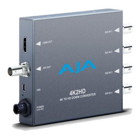 AJA 4K2HD 4K to HD Down Converter 4K2HD