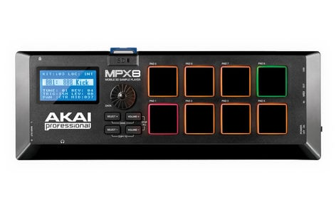 AKAI MPX8 Mobile SD Sample Player MPX8