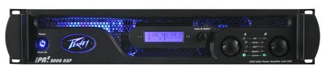 Peavey PV-IPR-DSP2000-II IPR2 DSP2000 530W Stereo Power Amplifier with DSP PV-IPR-DSP2000-II