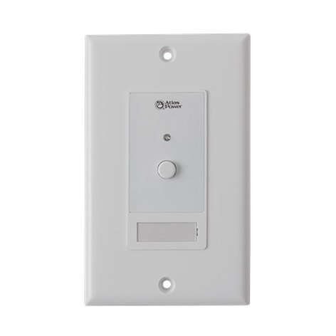 Atlas Sound WPD-SWCC  Wall Plate Push Button Switch with Hard Contact Closure WPD-SWCC