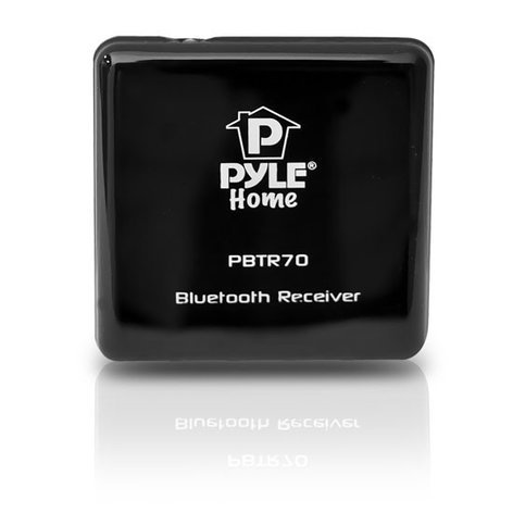 Pyle Pro PBTR70 Bluetooth A2DP Receiver for 30-Pin Docking Stations PBTR70