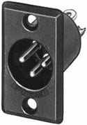 Switchcraft D5M  5-pin XLR Male Panel Connector D5M