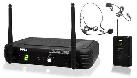Pyle Pro PDWM1904  Premier Series Bodypack UHF Wireless Microphone System PDWM1904