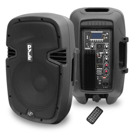 """Pyle Pro PPHP1037UB 700W 10"""" Active 2-Way PA Speaker with Bluetooth PPHP1037UB"""