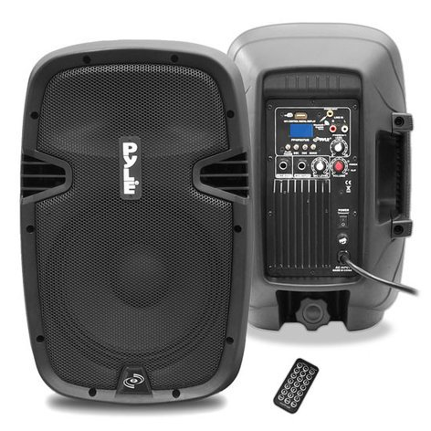 "Pyle Pro PPHP837UB  600W 8"" Active PA Speaker with Bluetooth PPHP837UB"