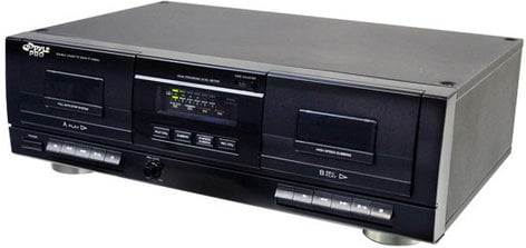 Pyle Pro PT659DU Dual Stereo Cassette Deck with USB PT659DU