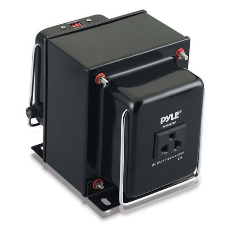 Pyle Pro PVTC2020U  2,000W Step Up & Step Down Converter Transformer with USB Charging Port PVTC2020U