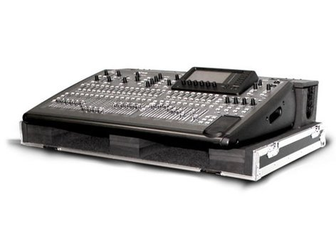 Odyssey FZBEHX32DHW Flight Zone Case for the Behringer X32 with Doghouse, Cover and Wheels FZBEHX32DHW