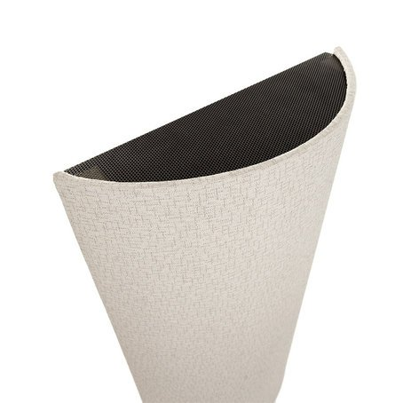 Acoustic Geometry CRVDFSFRAMDOVE Small Curve Diffusor in Dove Gray CRVDFSFRAMDOVE