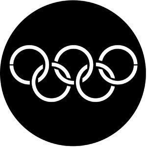 Rosco Laboratories 77437 Olympic Rings Gobo 77437