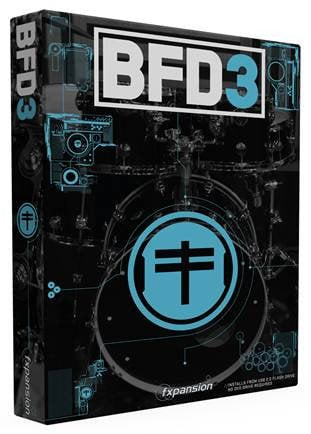 FXpansion BFD-3.0-BOX Virtual Acoustic Drum Software [BOXED VERSION] BFD-3.0-BOX